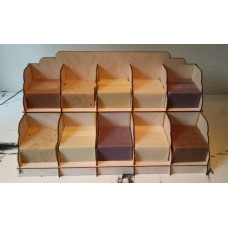 Soap Display Stand 5 column