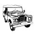 Land Rover Series Key ring